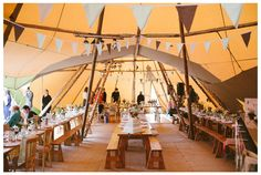 Lynda and Sophie's beautifully simple and full of character tipi wedding at Knepp Castle Estate, Summer 2013. Gorgeous colour scheme! Thanks so much to Alex of my-lovestory.co.uk for sharing these amazing photos with us.