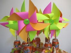 paper pinwheels cool soda can idea red white and two bday party idea with coke cans??