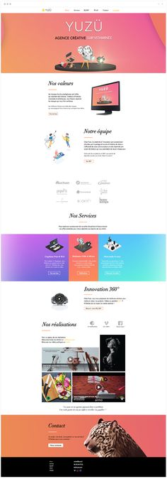 Agence Yuzu | Paris | Creative Agency Vitrine Design, Site Vitrine, Site Design, Web Design, French Websites, Innovation, Image Sites, Paris, Creative
