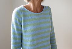 Ravelry: After the Rain pattern by Heidi Kirrmaier top-down in DK weight with positive ease