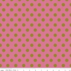 On Trend Dot Raspberry SPARKLE SC5754-raspberry  Designer: Jen Allyson for My Minds Eye Brand: Riley Blake Designs Width: 43/44 Content: 100% quilt weight cotton Metallic Washing Instructions: Machine Wash Cold/ Tumble Dry Low Re-orderable: YES  FABRIC IS CUT CONTINUOUS EXCEPT