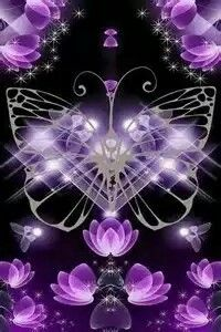 purple and butterflies - always a great combination Purple Art, Purple Love, Purple Butterfly, Butterfly Art, All Things Purple, Shades Of Purple, Deep Purple, Purple And Black, Purple Stuff