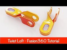 This tutorial explain how to use Loft with twist effect. 360 教學 thanks Cad Cam, Manish, 3 D, Concept Art, 3d Printing, Art Ideas, Loft, Make It Yourself, Youtube
