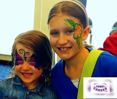 Face Painting at Holiday Inn Grand Opening event by FunnyCheeksTJ - Funny Cheeks Dallas Painter