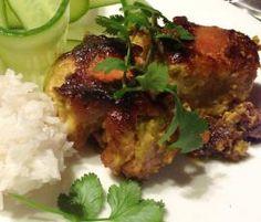 Roast Green Chicken Curry
