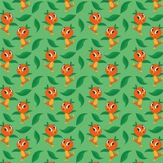 Adventure Land: Orange Bird 12 x 12 Paper Orange Wallpaper, Bird Wallpaper, Disney Wallpaper, Iphone Wallpaper, Scrapbook Background, Background Vintage, Background Patterns, Disney Nerd, Disney Love