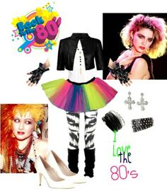 80's Style! I am most likely going to be a this for Halloween!!
