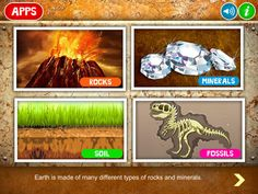 Rocks HD is a multi-sensory exploration of key topics in Earth Sciences such as the rock cycle, various types of rocks and their geology, minerals and excavation, soil types and horizons, weathering and erosion, formation of fossils, and various types of fossils.  - How are rocks formed and what role do they play on Earth? - What are the different layers of the Earth?  - What are minerals and how are they formed?  - How are the rock structures in Grand Canyon and Arches National monument…