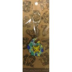 Pokemon Center 2014 Pikachu Metal Keychain Version #6