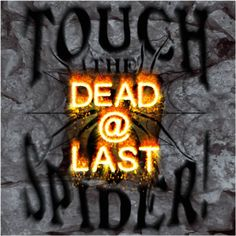 Free album download: DEAD@LAST As goodie there's the CD - DEAD@LAST - for free:     http://www.touchthespider.de/Download.html       DEAD@LAST 13 malign tracks made it on our new album. DEAD@LAST is grim, disturbing, experimental. A hike through a maze of despair and hopelessness. Darker than death, the CD is steeped in horror.