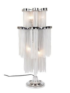 Delphine Metal Chain Table Lamp | $478.00