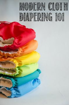 Modern Cloth Diapering 101 - tips, gear, washing, everything you need to know if you are curious about cloth diapering