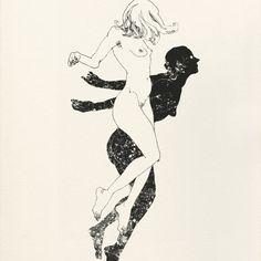 Magnifiques illustrations de l'artiste américain Lu Cong - Journal du Design