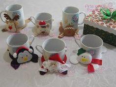 tapetinhos de caneca natalinos