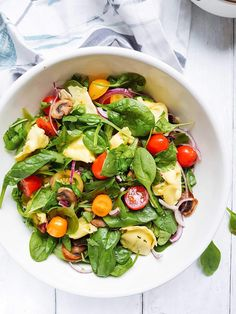 Caprese Salad, Cobb Salad, Tortellini, Vinaigrette, Ricotta, Tofu, Insalata Caprese, Vinaigrette Dressing