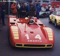 RSC Photo Gallery - Nürburgring 500 Kilometres 1970 - Abarth 2000 SP no.14 - Racing Sports Cars Arturo Merzario