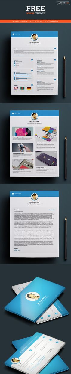 [FREE] Resume with Business Card