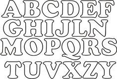 molde de letras ADC aqui: http://www.artecomquiane.com/2016/11/letra-forrada-com-la-para-decoracao.html