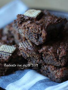 Andante con gusto: Di nuovo, sfacciatamente cioccolato: Brownies al d...