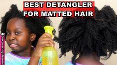 DIY Aloe Vera and Apple Cider Vinegar Detangler for Matted Hair #AloeVeraSkinCare