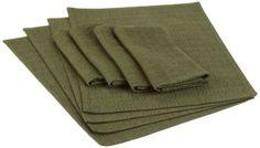 Amazon.com - DII Autumn Woods Linen Set, Includes 4 Winter Pine Woven Placemats and 4 Winter Pine Woven Napkins - Kitchen Linen Sets #AmazonCart #DII #DesignImports