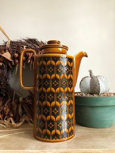 Your place to buy and sell all things handmade Hornsea Pottery, British Home, Vintage Coffee, Autumnal, House Warming, 1970s, Tea Pots, Stamp, Colours