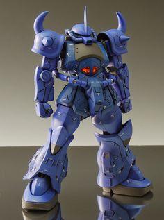 Gouf/Dodai YS - Customized Build Modeled by Style-S. Gundam Exia, Gundam Art, Custom Paint Jobs, Custom Decals, Gundam Build Fighters, Playstation 4 Console, Gundam Custom Build, Facebook Features, Android