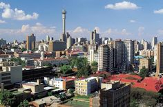 Johannesburg Walking Tour: Carlton Centre Observation Deck and Mai Mai Traditional Healers Market in South Africa Africa Paises Da Africa, South Africa, Cities In Africa, Johannesburg City, Deck, African Countries, Most Beautiful Cities, Africa Travel, Day Tours