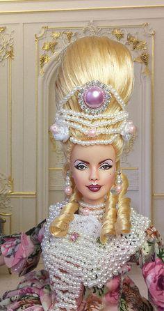 http://www.ebay.com/sch/imperialisooakdollss/m.html BARBIE MARIE ANTOINETTE OOAK MUSE COLLECTOR REPAINT DOLL By IMPERIALIS   par IMPERIALIS.OOAK.DOLLS
