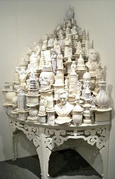 Ceramic Art by Walter McConnell, an American ceramic artist living and working in Belmont, New York.