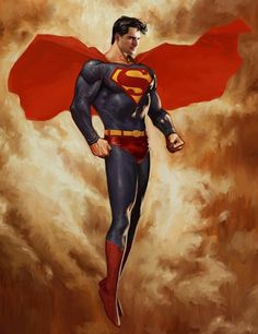 Resultado de imagem para Superman fan art