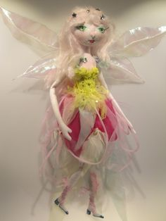 The Original KAERIE FAERIE Doll soft sculpture by Kaeriefaerie52, $65.00