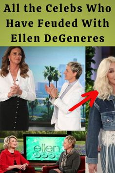 #Celebs #Feuded #Ellen #DeGeneres Vintage Hairstyles, Trendy Hairstyles, Edgy Short Haircuts, Evening Gowns With Sleeves, Hair Color Streaks, Hand Embroidery Flowers, Face Massage, Birthday Gifts For Best Friend, Outdoor Wedding Decorations