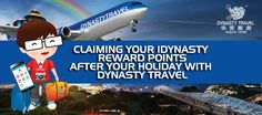 Your experience with Dynasty Travel doesn't end upon your arrival in Singapore after your holiday. Click on the link below to find out how to go about claiming your iDynasty reward points after your holiday with Dynasty Travel: http://www.dynastytravel.com.sg/instructions/manual.pdf Claiming of iDynasty reward points can be done via Dynasty Travel Website or via our iDynasty app which is available on both the App store and Google play store. Redeem exclusive vouchers with your reward points.