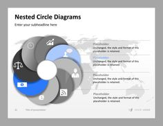 Professional Presentation, Business Professional, Business Presentation, Powerpoint Layout, Powerpoint Charts, Circle Diagram, Feeling Excited, Slide Design, Marketing