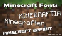 minecraft font - Google Search