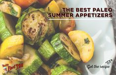 The search for the perfect collection of paleo summer appetizers is over. These healthy recipes are simple, low carb, and will make you feel great! Get all 5 Bob's Red Mill recipes here: Paleo Recipes Easy, Great Recipes, Bobs Red Mill, Paleo Breakfast, Paleo Dessert, Healthy Fats, Fruits And Vegetables, Appetizers, Low Carb