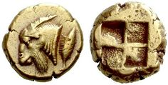 A Greek Electrum Stater of Kyzikos (Mysia), an Exceptional Depiction of a… Electrum, Coin Art, Gold And Silver Coins, Antique Coins, Greek Art, World Coins, Rare Coins, Ancient Civilizations, Coin Collecting