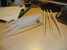 X men wolverine prop claws cardboard diy with template wolverines claws cheap diy prop x men origins costume solutioingenieria Gallery