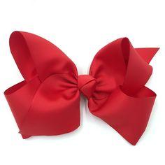 Medium French Clip Hair Bow Women/'s Boutique Barrette Black White Plaid Cotton