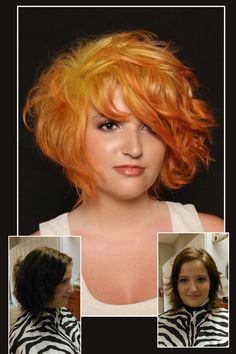 Pravana vivids  hair by Amy Robinson at Absolutely You Salon in Tipton IN