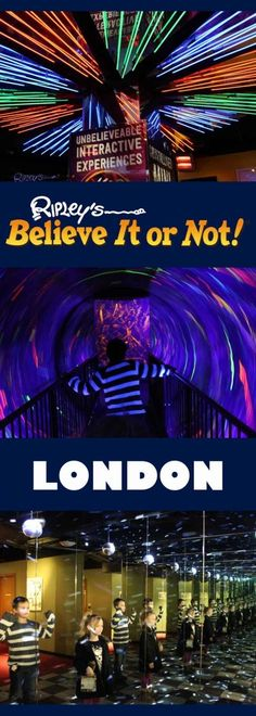 While we were in London recently we reviewed Ripley's Believe it or Not.  It was a great family day out with the children.  They have an amazing Mirror Maze, Black Hole, Interactive Exhibits and unusual and funny items.  Just in Piccadilly Circus, Ripley'