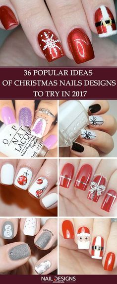 Christmas nails are an essential part of your holiday image and we have created a gallery featuring the freshest designs for your inspo.