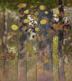 Forestial Flutter | oil on canvas | 54 x 48"