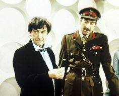 """The Doctor's ally Colonel Lethbridge-Stewart, played by Nicholas Courtney, first appeared in """"The Web of Fear"""". 1968"""