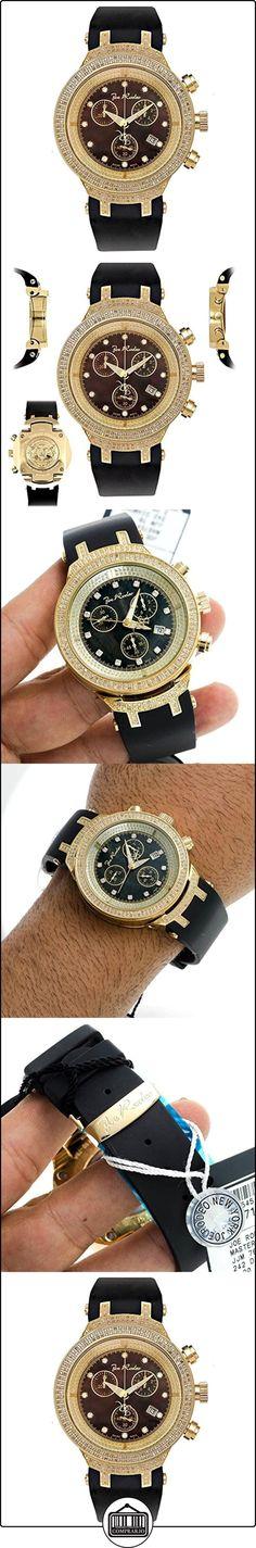 JOE RODEO Diamond Reloj para hombre-Master Oro 2.2quilates  ✿ Relojes para hombre - (Lujo) ✿