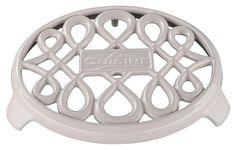 La Cuisine - Round Trivet - White, LC 8580