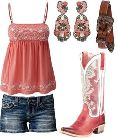 Cute:) country princess fashion, country girls outfits и cou Country Girls Outfits, Country Girl Style, Country Fashion, Cowgirl Outfits, Cowgirl Style, Western Outfits, Western Wear, Cowgirl Boots, Western Boots