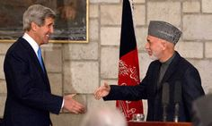 Secretary of state makes surprise visit to Kabul in effort to smooth US ties with Afghanistan after departure of Nato troops Afghanistan Culture, Peace Studies, John Kerry, Surprise Visit, Our Country, Persecution, Sociology, Troops, Prison
