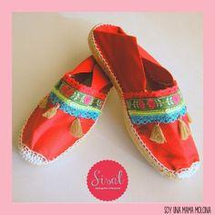 I am a mama molona: Sisal: ideal espadrilles